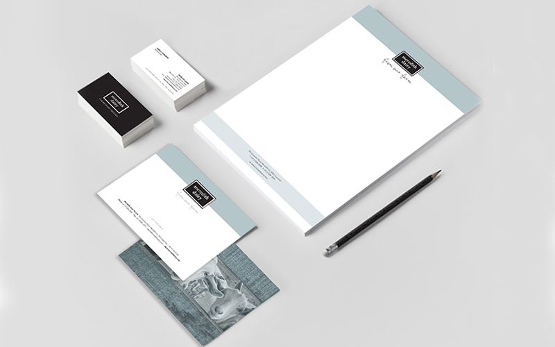 Meredith Dairy stationery design Victoria